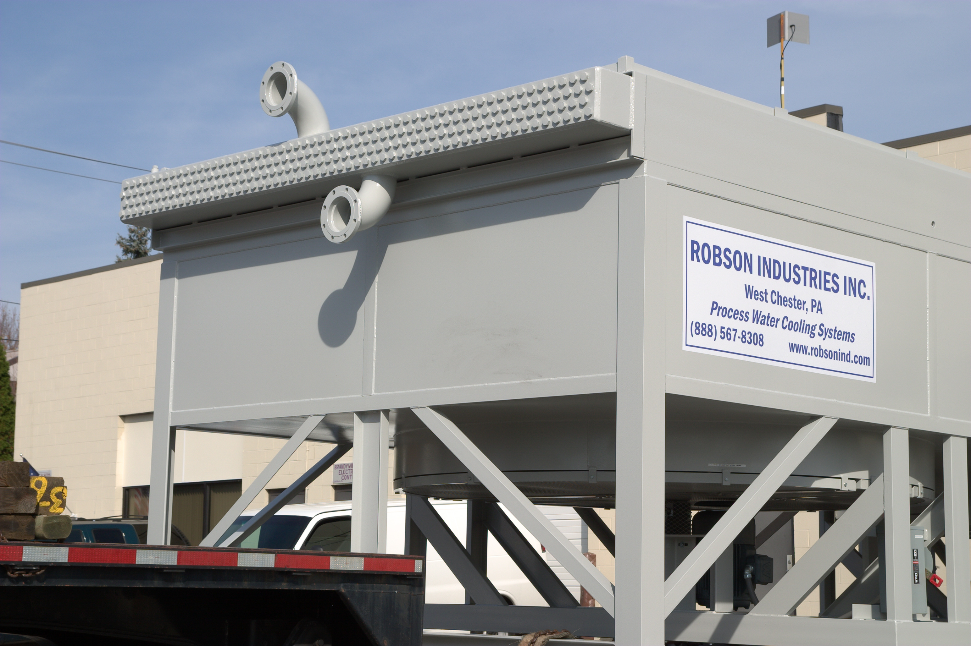 Air-Cooled Heat Exchanger Systems | Robson Industries Inc