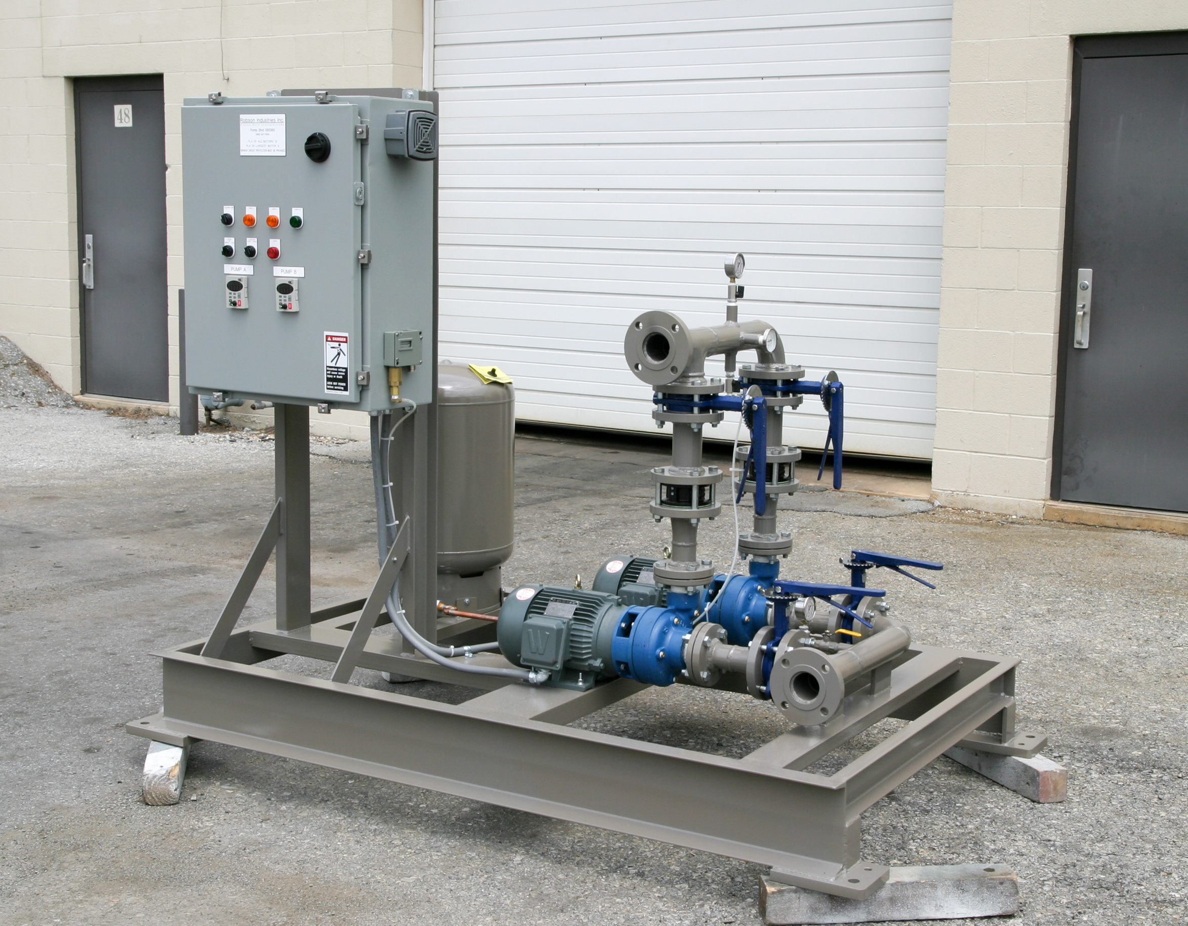 Pump Skids And Reservoirs Robson Industries Inc