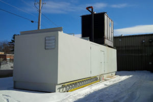 Cooling System With Outdoor Enclosure